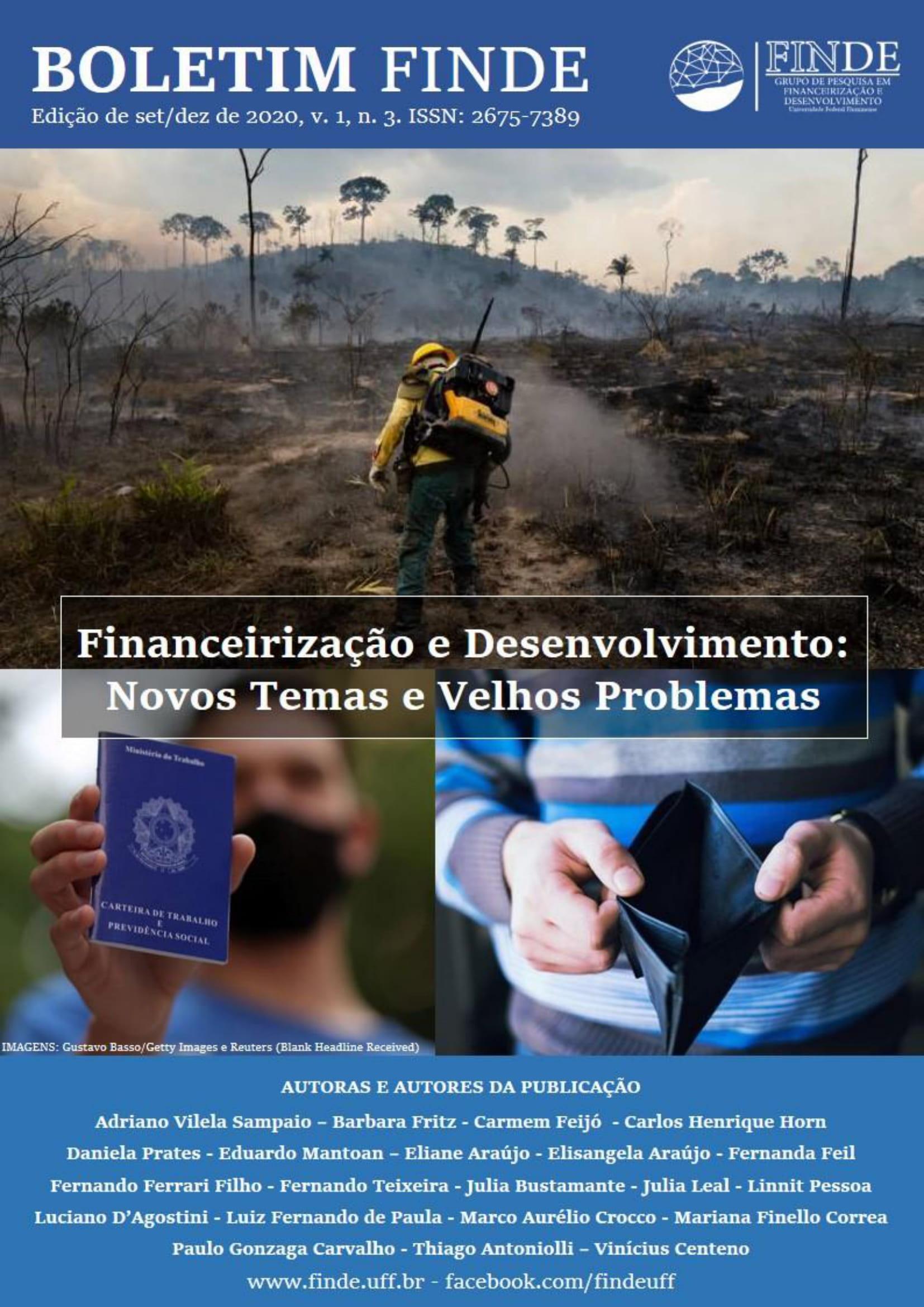 Boletim nº 03 - Financeirização e Desenvolvimento: Novos Temas e Velhos Problemas